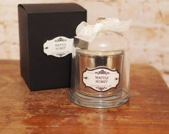 Wattle Honey Scented Cloche Candle