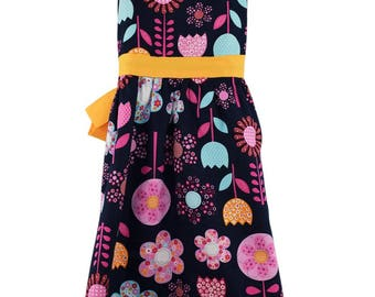 Girls cotton party dress