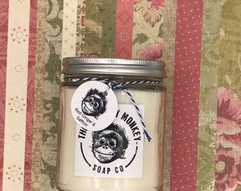 Red Ginger & Saffron all natural soy candle