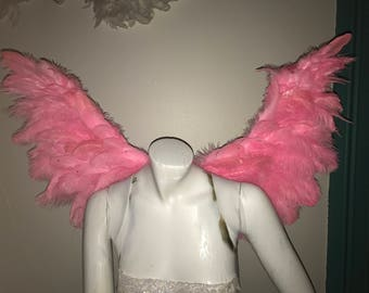 Victoria secret PINK Angel wings costume (Comes with Vest)