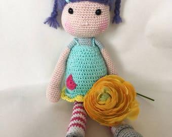 The little doll crochet Merle