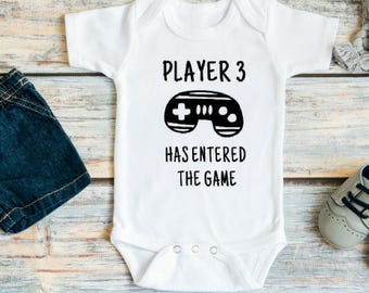Pregnancy reveal to husband - Pregnancy reveal to family - Pregnancy announcement to husband - Player 3 has entered the game Funny bodysuit