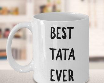 Tata Gifts - Tata Mug - Tata Coffee Mug - Best Tata Ever Ceramic Coffee Cup - Ta Ta Tea Cup