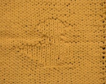 Just Ducky Baby Washcloth Pattern