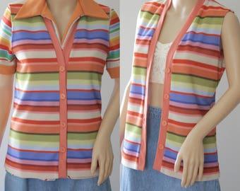 Groovy 70's Vest