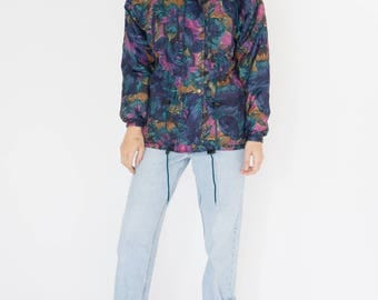 Vintage 90s Flower Winter Jacket