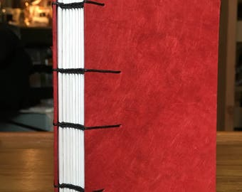 "Hand-bound Journal, Coptic binding - 4x6"", 100 pages"