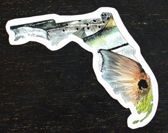 Snook etsy for Saltwater fishing decals