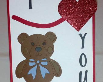A Valentines Day Spinning Heart Greeting Card