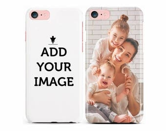 Personalized iPhone Case - Make your Phone Case - Customized Case with Your Photo, Quote, Text - Custom Case for iPhone, LG
