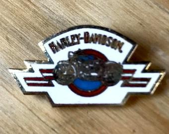 HARLEY PIN: Vintage Harley Davidson Enamel Pin | Rare Harley Davidson Pin | Collectible Vintage Motorcycle Pin - Great Gift!