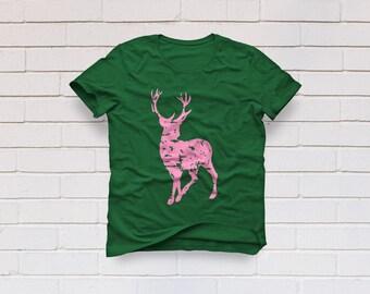 Deer svg, Grunge svg, Antlers svg, Christmas svg, Deer head svg, Distressed deer svg, Grunfe deer svg, Cricut, Cameo, Svg, DXF, Png, Eps