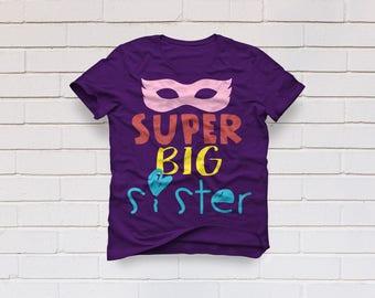 Superhero svg, Sister svg, Big sister svg, Supergirl svg, Kindergarten svg, Birthday shirt, Cricut, Cameo, Clipart, Svg, DXF, Png, Pdf, Eps