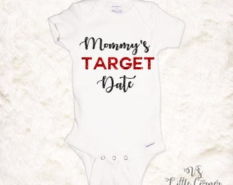 Mommy and me Target Date Onesie Toddler Shirt baby girl clothes shopping buddy date newborn outfit cute baby clothes baby shower gift