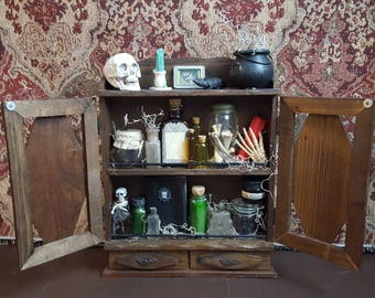 Apothecary Cabinet apothecary cabinet | etsy