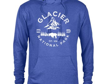 Glacier National Park Adventure Unisex Hoodie