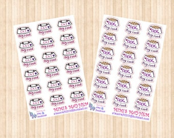Buy Cat/Dog Food // Diary // Planner // Stickers