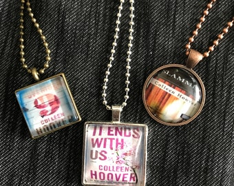 Colleen Hoover necklaces - It Ends With Us - Slammed - November 9