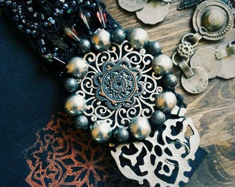 Gothic Princess Tribal Headpiece