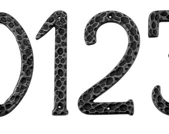 Wrought Iron House numbering/forged Iron house numbers