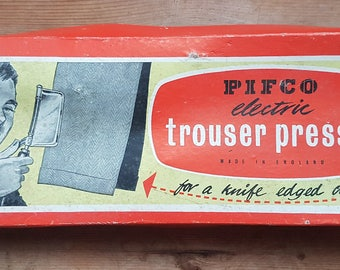 Vintage Pifco Electric Trouser Presser Boxed Vintage 1950s