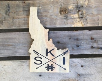 Ski Idaho Sign