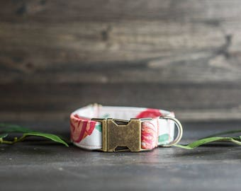 Trendy Dog Collar | Floral Dog Collar | Flower Dog Collar | Girly Dog Collar | Cat Collar | Girl Dog Collar | Female Dog Collar