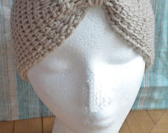 Tunisian Stitch Ear Warmer - Ear Warmer - Winter Accesorries - head band