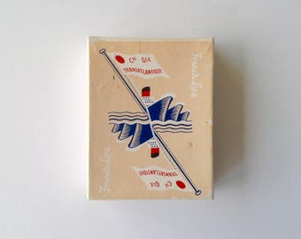 Rare Vintage French Line Playing Cards - Cie Gle Transatlantique - Poker Playing Cards by Catel & Farcy Paris - 1930s