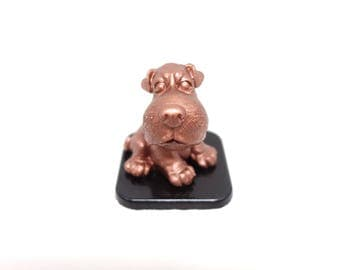 Dog lover decor, Coworker Gift, Concrete decor, Desk decor, office decoration, dog figurine, Gift For Him, Gift For Her
