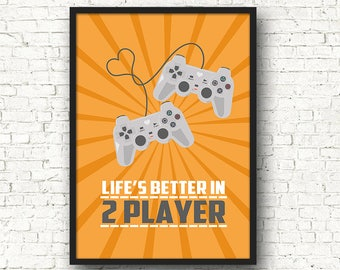 Lifes Better In 2 Player PS Edition