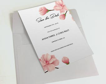 Save the Date A5 Double sided Card