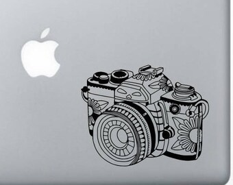 Zentagle Camera, Camera decal, Photography decal, Car decal, Window decal, Laptop Decal, Tablet decal, Photographer gift