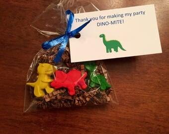 Dinosaur Party Favors, Dinosaur Train, Dinosaur Lego Party, Dinosaur Birthday, dinosaur crayons