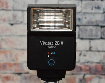 Vivitar 26-A Auto flash for camera