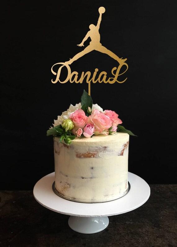 Michael Jordan Cake TopperPlayer Cake TopperJordan Birthday