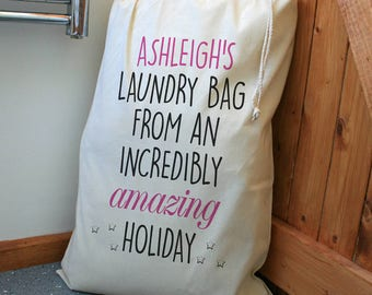 Personalised Laundry Bag