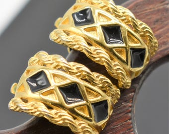 Vintage Givenchy Earrings- Clip On
