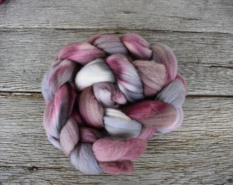 Hand Dyed 19.5 Micron Merino Wool Top 4 ounces