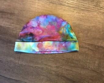 Tie Dye Beanie Hat