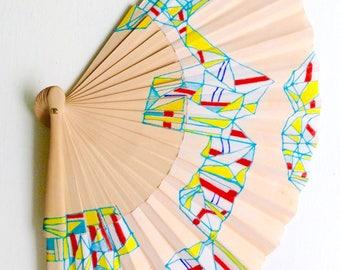 Unique hand fan design 11