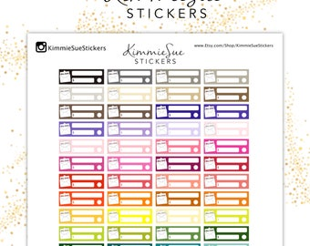 Printable Planner Stickers | Functional Kit | TN Stickers | Erin Condren Planner | PDF Trace Files | Planner Printable | Stickers Printable