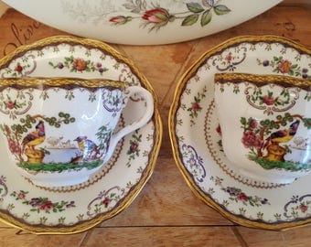 Copeland Spode Chelsea Pattern two tea for two