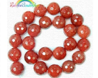 Natural Faceted Agate beads, Gemstone Beads, 4mm 6mm 8mm 10mm 12mm 14mm 16mm Stone Spacer Beads, Round Natural Beads, 15''5 strend