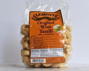 Clemente Wine Taralli- 10 oz Bag