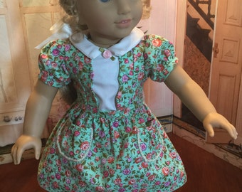 1950's era dress for 18 inch doll