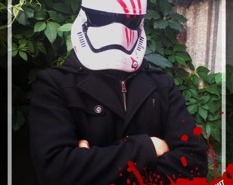 "First order stormtrooper ""Traitor"" helmet"