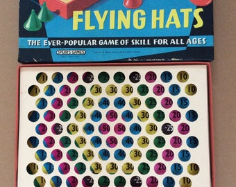 Vintage Spears Game Flying Hats