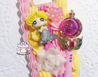 Samsung S8 - Ready to Ship - Moon Princess Sailor Moon Princess Serenity with moon wand decoden case