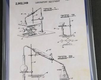 Science Patent Art Prints Set